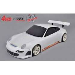 Chassis 4wd 510 RTR + car....