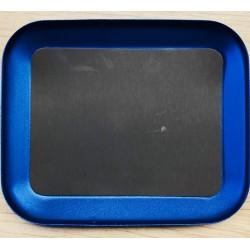 Boîte aimantée aluminium bleu