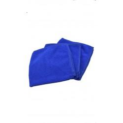5 Chiffon micro-fibre bleu